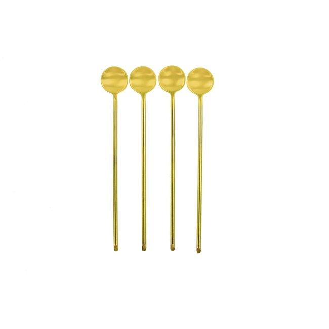 Gold Thin Spoon, Long