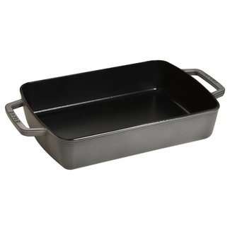 Staub Staub 12x8 Roasting Pan Graphite Grey