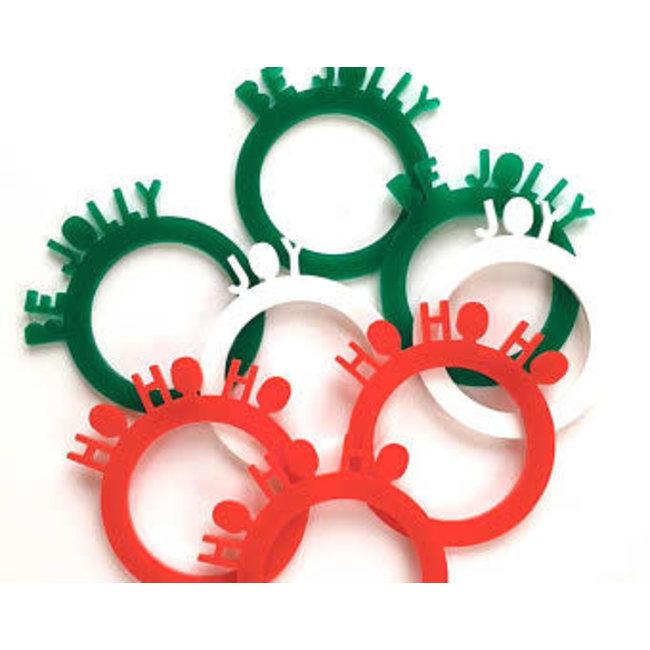 Be Jolly Napkin Rings