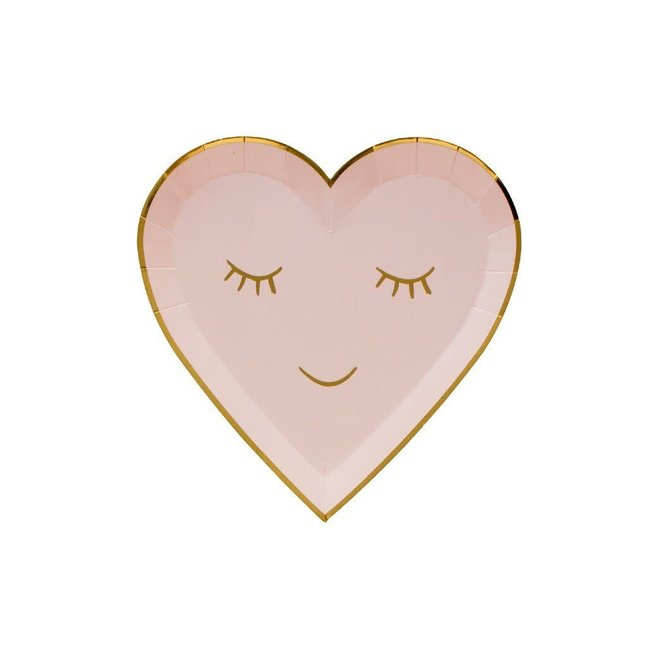 BLUSHING HEART SMALL PLATE