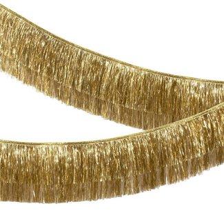 Gold Tinsel Fringe Garland