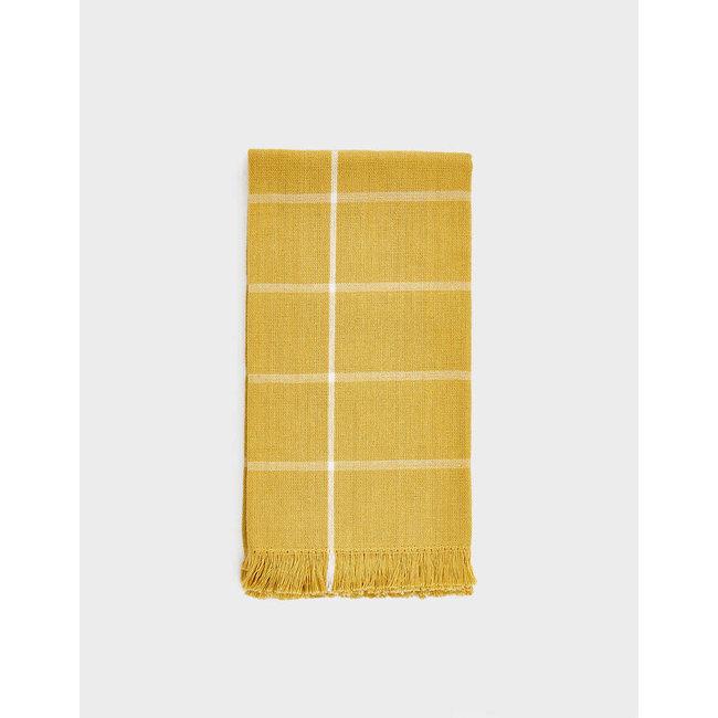 Gold Grid Napkins