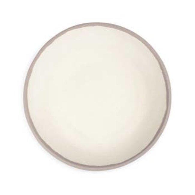 Potter Stone Greige Dinner Plate
