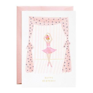 The Tiniest Ballerina Card