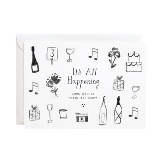 It's All Happening Card