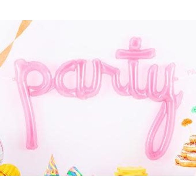 Party script - clear pink