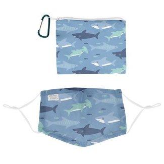 Kid Mask Kit- Cotton Shark
