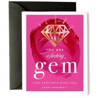 You Are A Gem - Happy Birthday