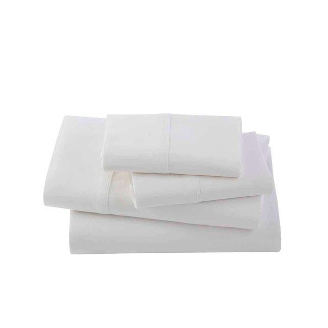 Bamboo Sateen Sheets- White, Queen
