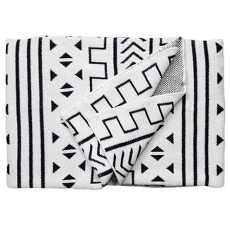 Mali Throw Blanket Blanc
