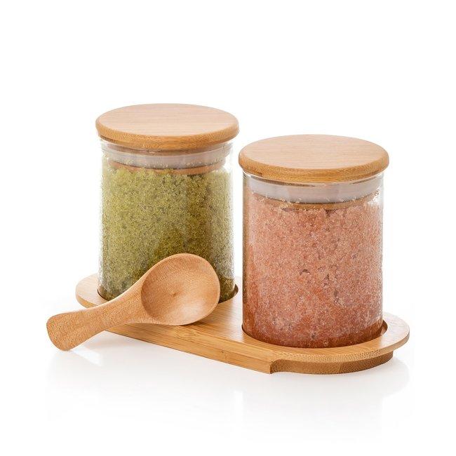 Dual Bath Salt Set Lavender Citrus/Matcha