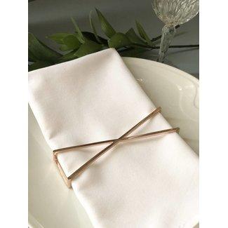 Gold X Napkin Wrap