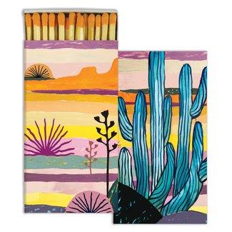 Matches Blue Cactus