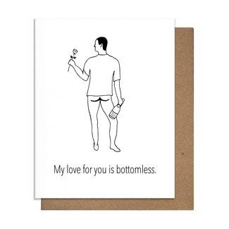 Bottomless Love Card