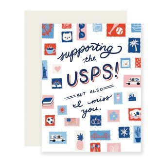 Slightly Support the USPS Card