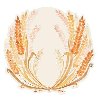 Die Cut Golden Harvest Placemat