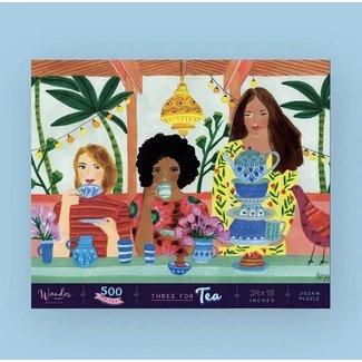 Three for Tea Puzzle 500