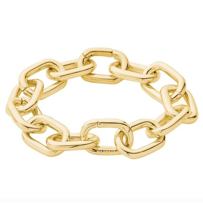 Interchangeable Link Bracelet 14k Gold