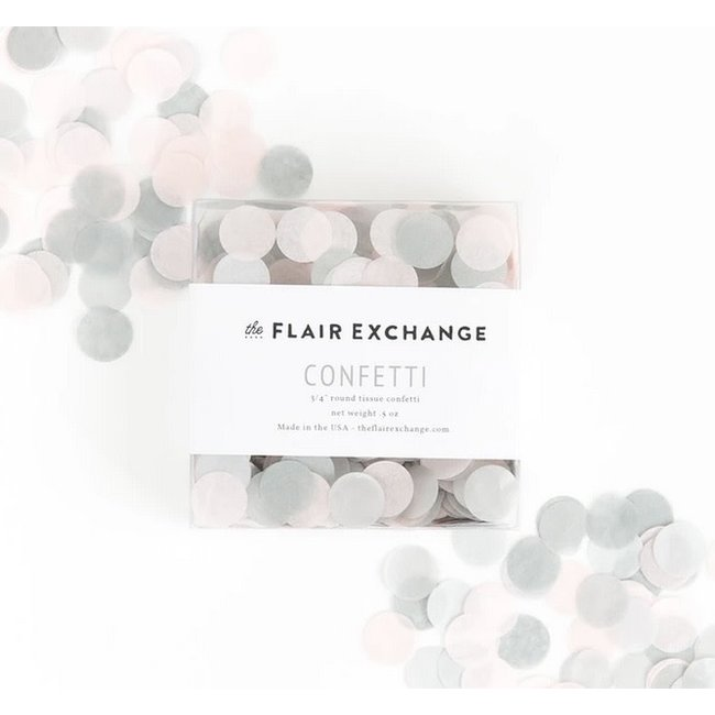 Pink Quartz Hand-Cut Confetti