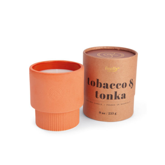 Tobacco & Tonka Candle 9oz
