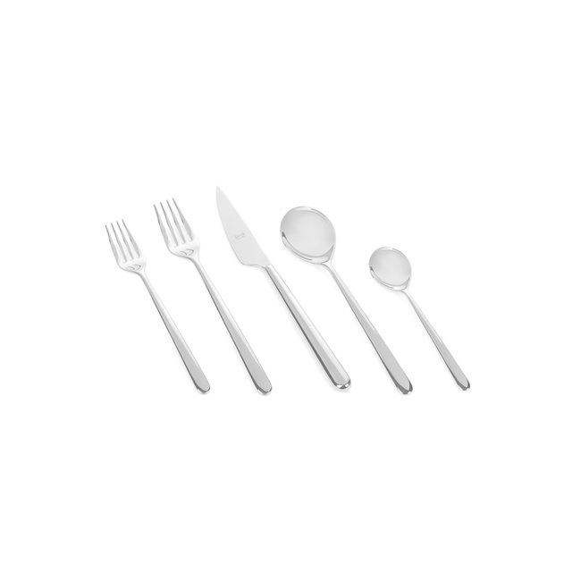 Linea Stainless Steel 5pc. Flatware Setting