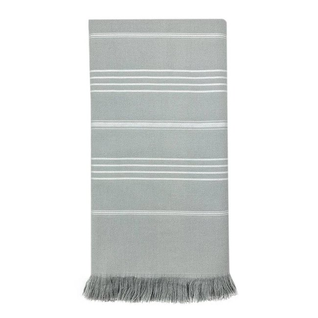 Classic Terry Turkish Towel Grey