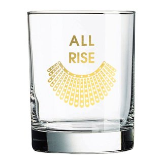 All Rise Rocks Glass
