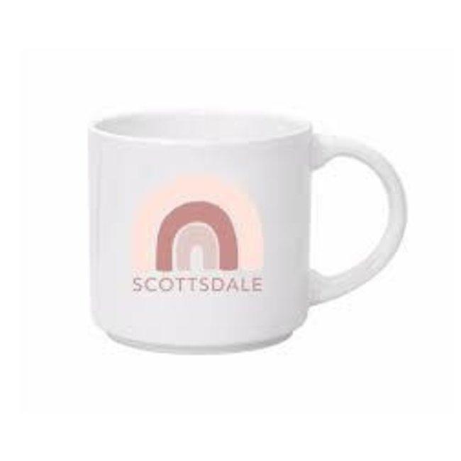 Scottsdale Boho Rainbow Mug