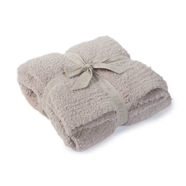 Barefoot Dreams CozyChic Throw Stone