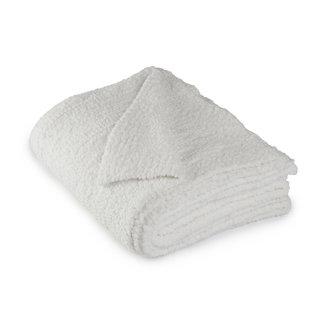 Barefoot Dreams Boucle Throw, Winter White