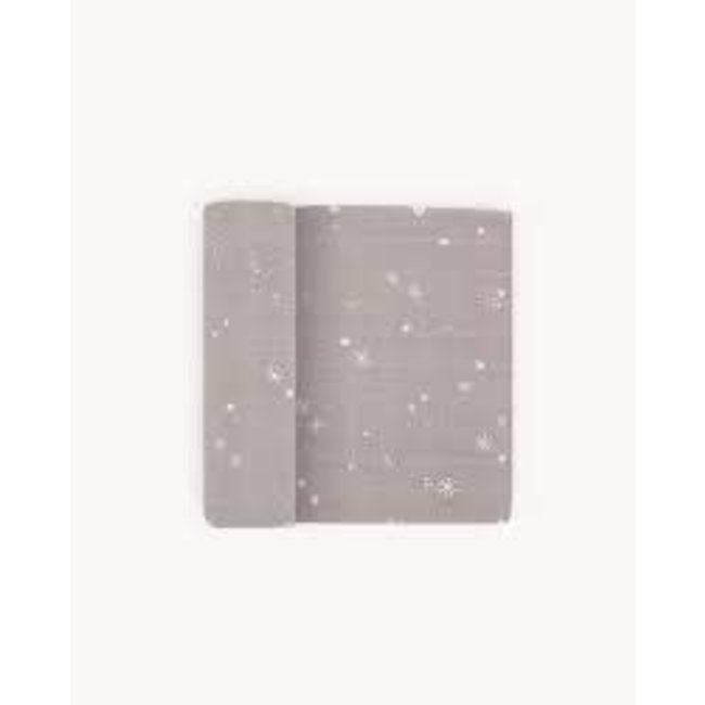 Snow Flurries Cotton Muslin Swaddle Single