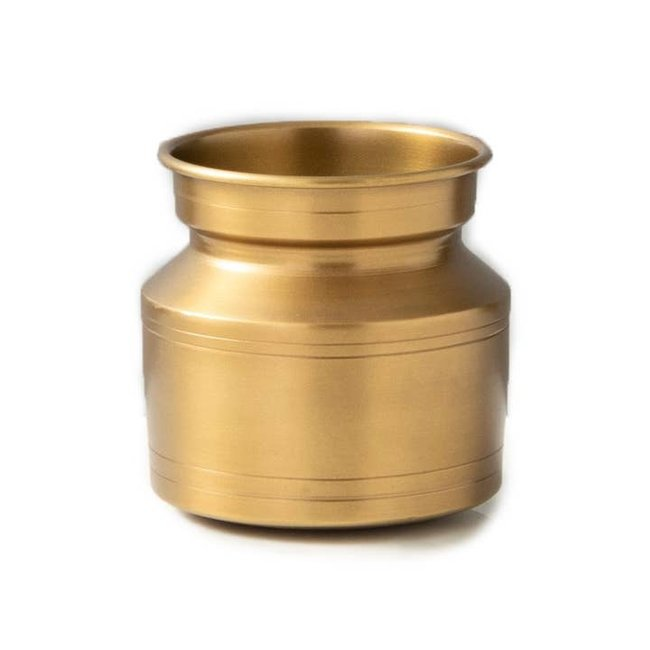 Brass Lota Vase Oblong
