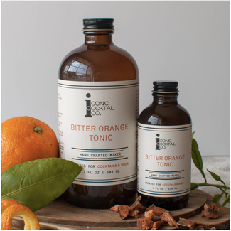 Iconic Cocktail Co. Bitter Orange Tonic 17oz