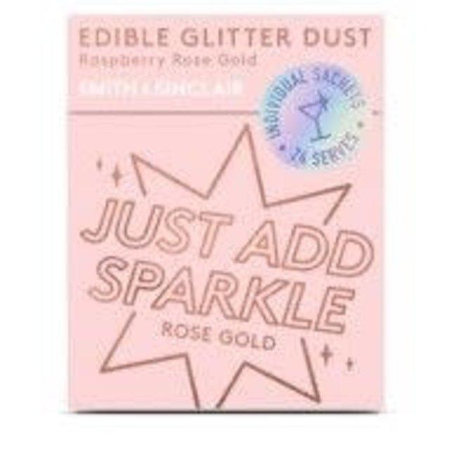 Edible Glitter Dust Rose Gold Raspberry