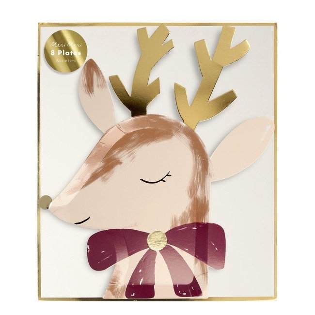 Reindeer w/Bow Plates