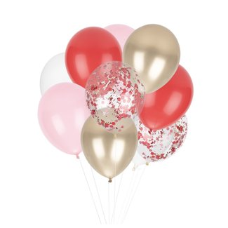 Candy Cane Classic Balloons
