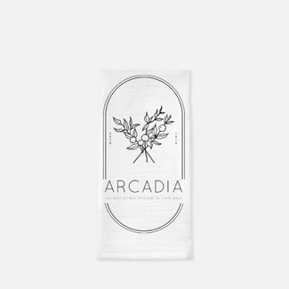 Arcadia Citrus Tea Towel