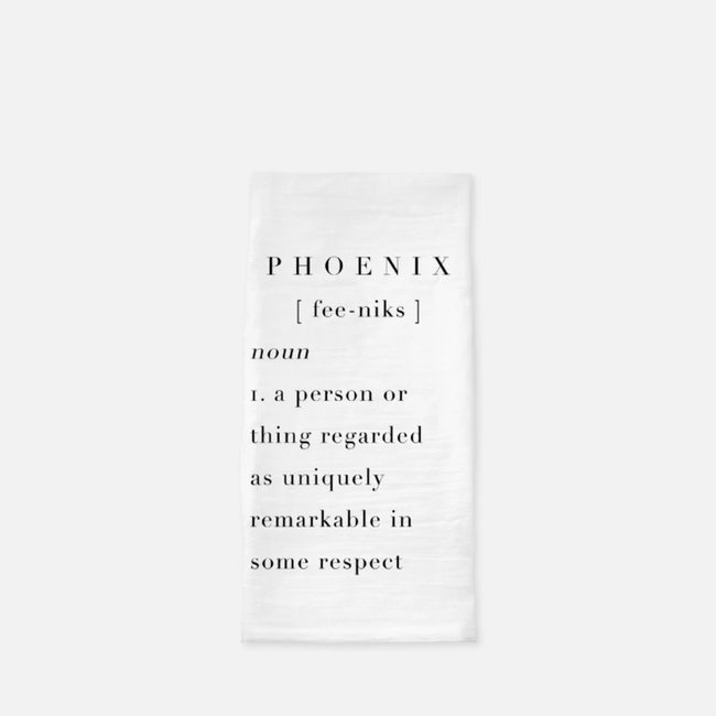 Phoenix Definition Tea Towel