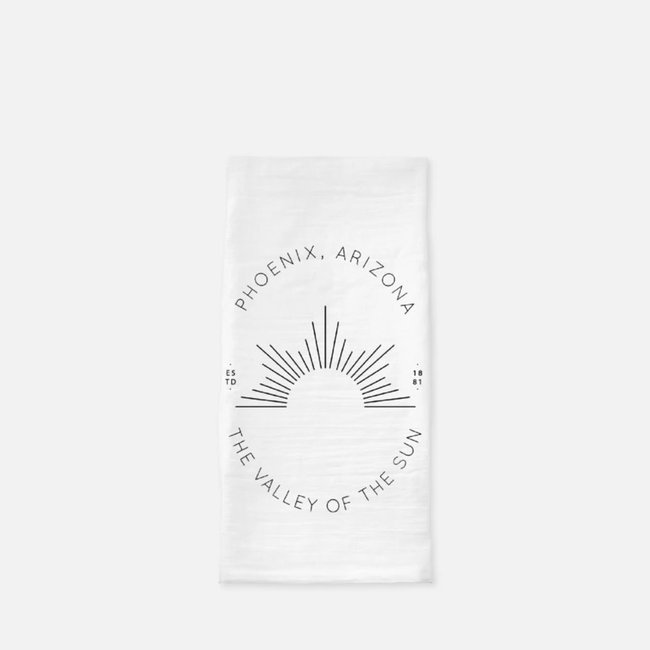 Phoenix Valley of the Sun Tea Towel