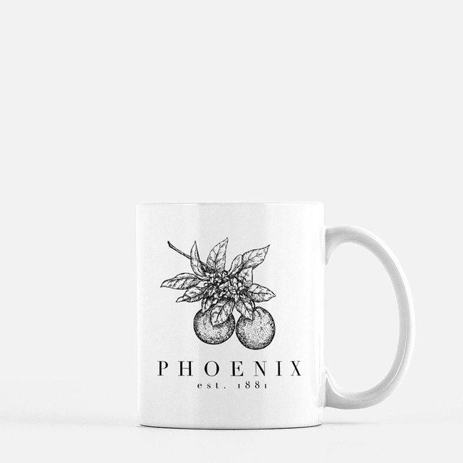Phoenix Citrus Mug
