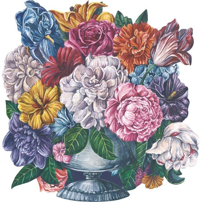 Die Cut Dutch Floral Placemat