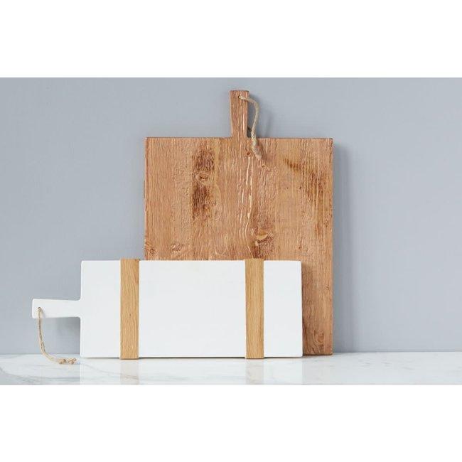 White Mod Rect Board Small