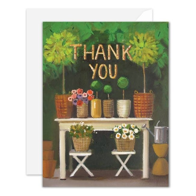 Thank You Card janet Hill