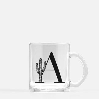 Monogram Cactus Mug