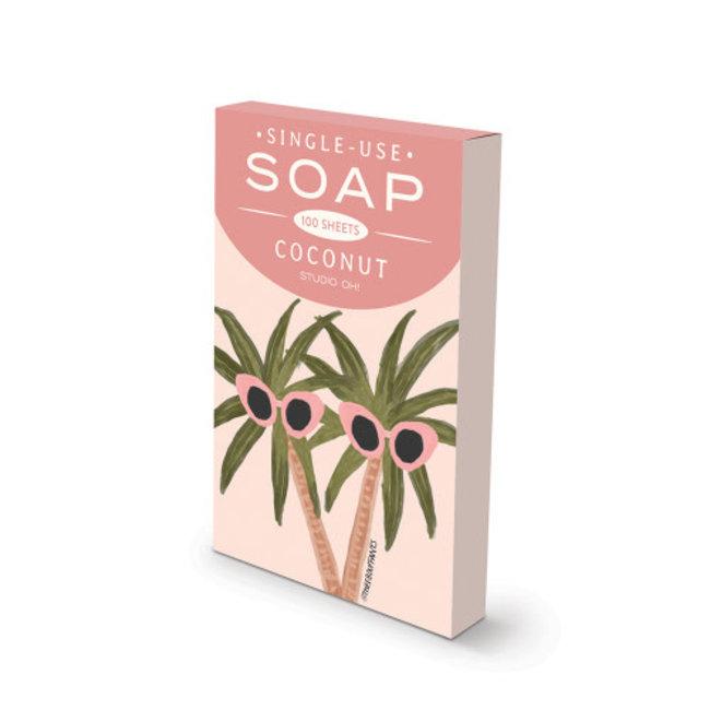 SUNNY PALMS SINGLE-USE SOAP SHEETS