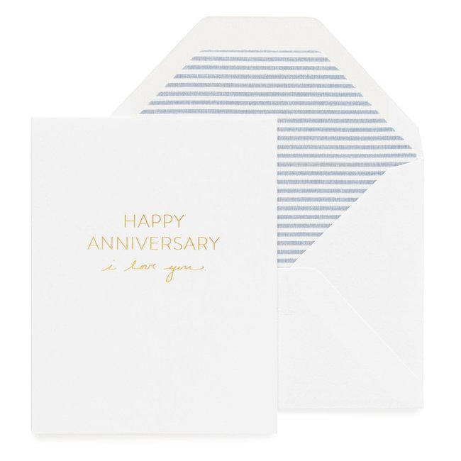 Anniversary, I Love You Card