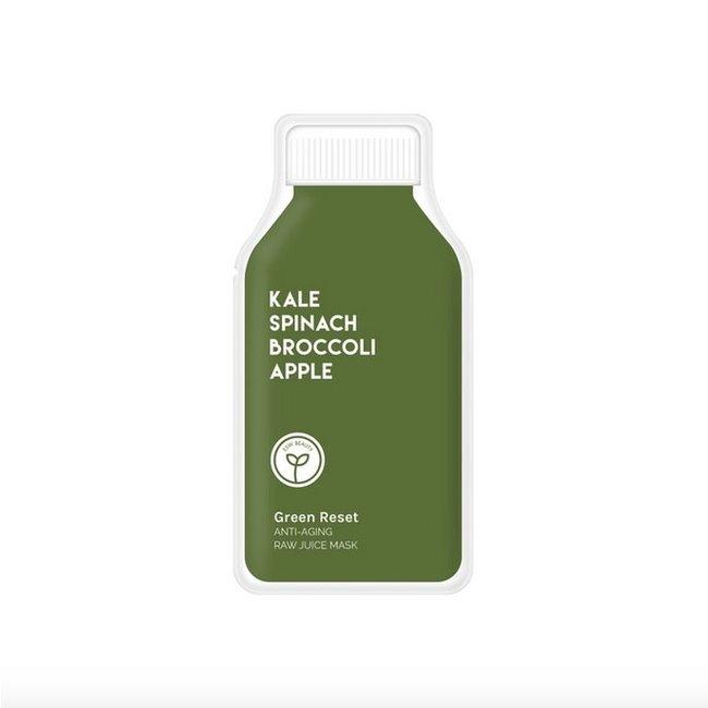 Green Reset Anti Aging Raw Juice Mask
