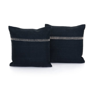 ALese Charcoal Pillow 20""