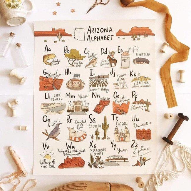 Arizona Alphabet Poster