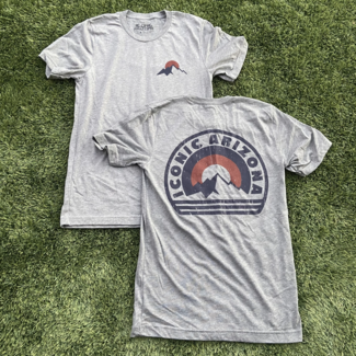 Mountain Time Tee Grey